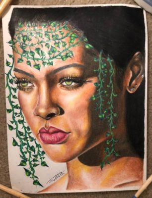 Taya Morgan Moore Artist Rihanna