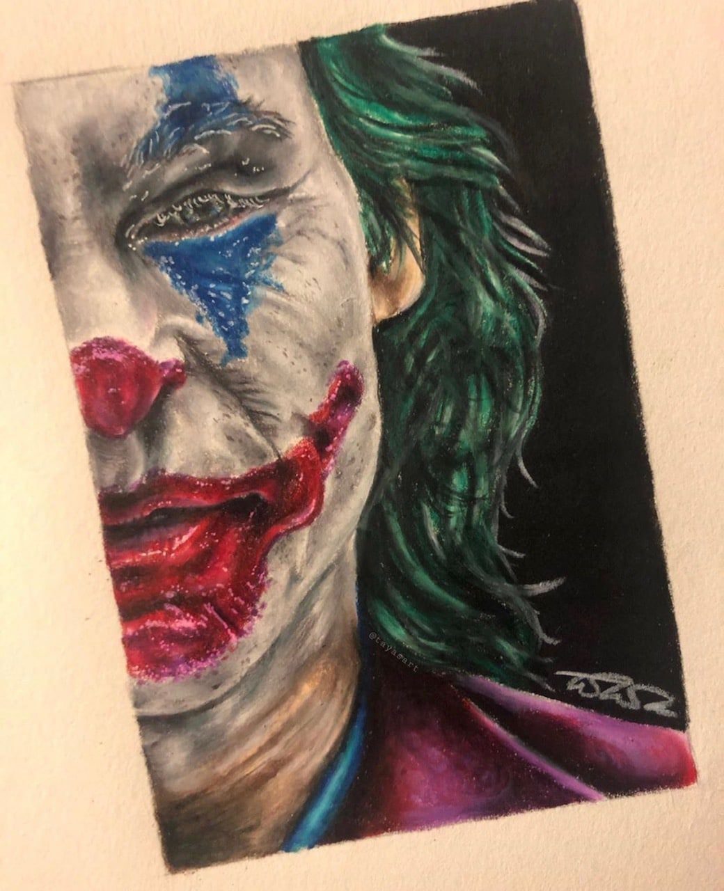 Taya Morgan Moore Artist The Joker